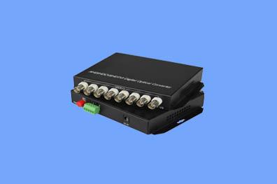 8路CVI/TVI/AHD光端机兼容1080P(奥利维尔)