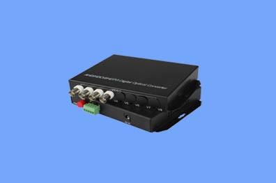 4路CVI/TVI/AHD光端机兼容1080P(奥利维尔)