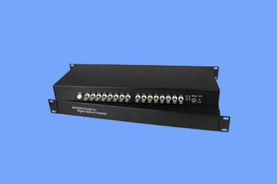 16路CVI/TVI/AHD光端机兼容1080P(奥利维尔)